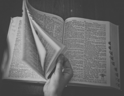 dictionary-book-reading